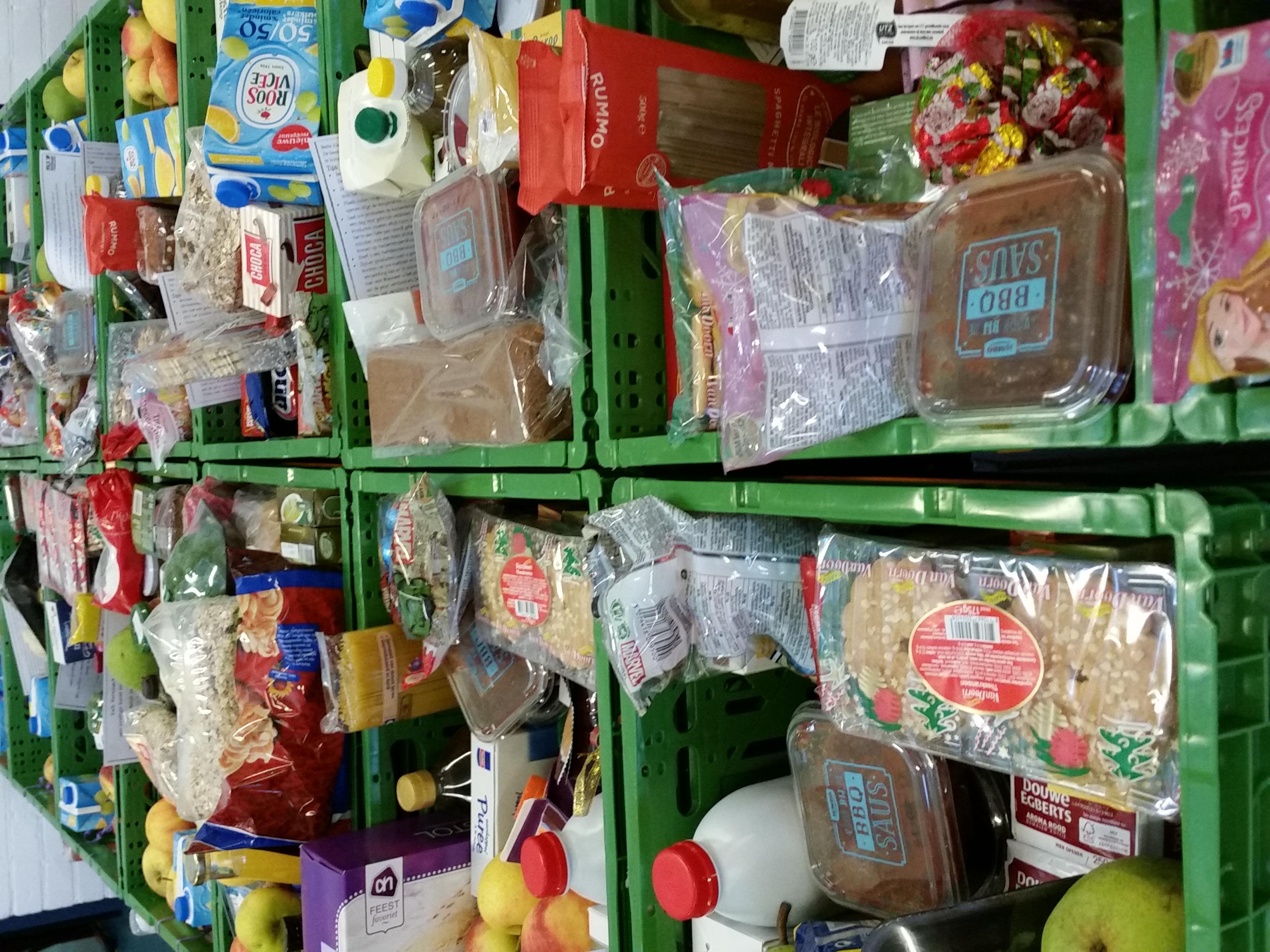 Dank van de Voedselbank aan alle donateurs in Voorschoten